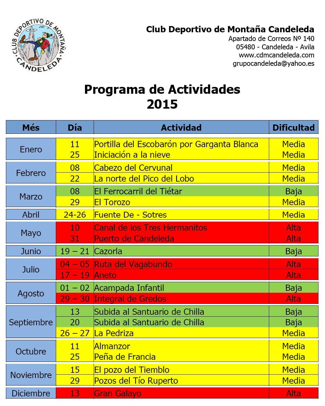 CalendarioDeActividades2015