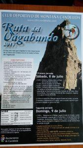 Cartel Ruta del Vagabundo 2017